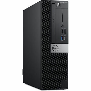 Dell OptiPlex 7070 Mini Tower 8-core i7 32GB RAM 1.0TB NVMe SSD w. Warranty 3/23