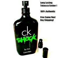 Calvin Klein CK One Shock - 5ml Decant- 5ml Glass Atomizer- SAMPLE