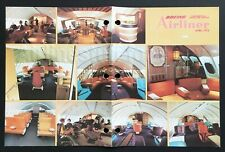 Boeing AIRLINER magazine APR 1972 747-100 QANTAS Upper Deck Lounge airlines