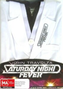 Saturday Night Fever 30th Anniversary Limited Edition (1977) DVD-2 Disc-Sealed
