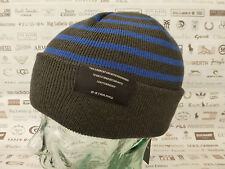 G-Star RAW Beanie Dalmar Knit RAVEN oversize o Turn-up Skull CAPS BNWT