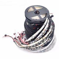 WS2811 5050 RGB LED Strip 1m/5M 150 300Leds Individual Addressable DC12V White/B