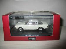 wonderful modelcar FIAT 2300 COUPE 1961 - white - 1/43 - lim.edition