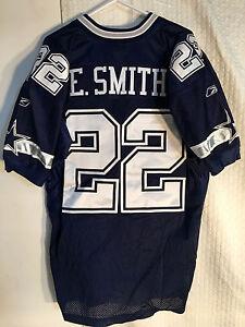 Reebok Authentic NFL Jersey DALLAS Cowboys Emmitt Smith Navy sz 50
