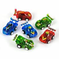 Mini Pull Back Cars Kids Party Bag Fillers Boys Toys Race Gifts Xmas Stocking