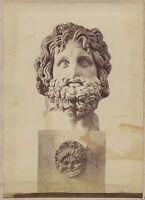 Soprammobile Italia Vintage Albumina Ca 1875