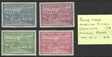 U.S. Poster stamps American Olympic Committee for 1940 Helsinki games 4 Diff Mh