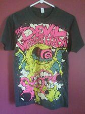 The Devil Wears Prada Women's XS Gray T-Shirt. American Metalcore