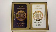 Elkhart Indiana High School Class Of 1943 50th Reunion 1993 Playing Cards *NEW*