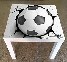 Football Vinyl Sticker Suitable For ikea lack Table / Coffee table lk13