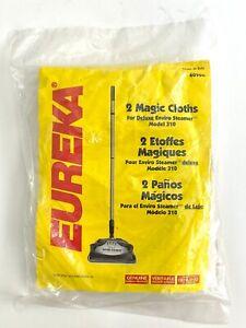 Genuine Eureka Deluxe Magic Cloth for Eureka Enviro Steamer 310 (Set of 2 Cloth