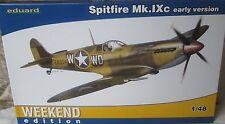 Eduard 1/48 EDK84137 Supermarine Spitfire Mk IXc (early) Weekend Edition