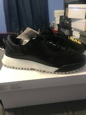Alexander Wang x adidas AW Hike LO Black White AC6839 BOOST leather US Sz 12.5