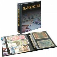 Lindner 3537 publica M Banknote Album with 20 Double-Sided Fitted folienblätt