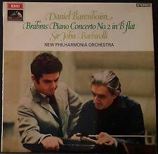 HMV OASD 2413 BRAHMS PIANO CONCERT NO.2 BARENBOIM BARBIROLLI  AUS PRESS EX+ COND