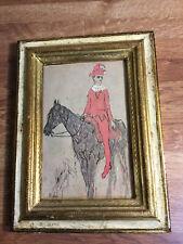 "1948 Pablo Picasso ""Clown a Cheval"" Small print Italy"