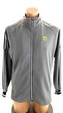 OLYMPIC 105 MENS GRAY POLY SPANDEX TRACK JACKET SIZE M