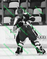 Basil McRae (fight) MINNESOTA NORTH STARS 8 X 10 B&W PHOTO hockey #M7f3yyg7