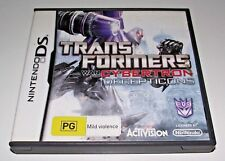 Transformers War for Cybertron Decepticons DS 2DS 3DS Game *Complete*