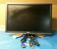 "LOT-5 Dell 20"" Wide UltraSharp LCD Monitor 2009Wt Grade A"