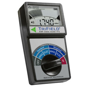 Trifield EMF Gauss Meter TF2 ! The 100XE Legend Renewed AC Magnetic Electric RF