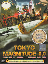 Tokyo Magnitude 8.0 DVD Complete TV Series 1-11 - US Seller Ship Fast