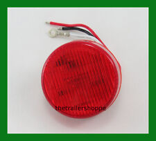 """Dual Function (High and Low) 2""""  Red 6 LED Sealed Light"""