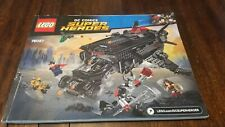 Lego DC Super Heroes (76087) Flying Fox: Batmobile Airlift Attack - Manual Only