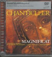 CHANTICLEER - Magnificat (2001) DVD Audio RARO