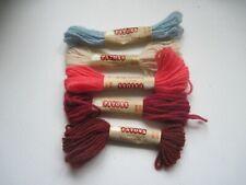 5 Vintage Patons beehive Tapestry wool skeins