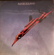 "BUDGIE - SQUAWK - VINYL "" NEW, FACTORY SEALED """
