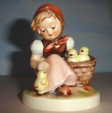 "Hummel Goebel Chick Girl Figurine Hum 57/0 Tmk5 3.5""H"