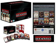 DESPERATE HOUSEWIVES 1-8 2004-2012: COMPLETE TV Series Seasons NEW UK DVD not US