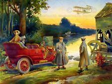 Cars Travel Vintage Art Posters