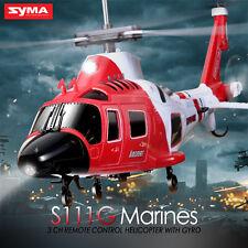 Syma S111G 3.5CH RC Infrarot-Fernbedienung Hubschrauber mit Gyro Apache Fighter