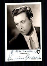 Erwin Strahl UFA Autogrammkarte Original Signiert TOP## BC 611