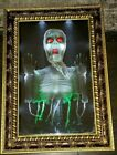 """30"""" Animated Spirit Halloween Haunted Magic Mirror Prop Trapped Ghost!"""