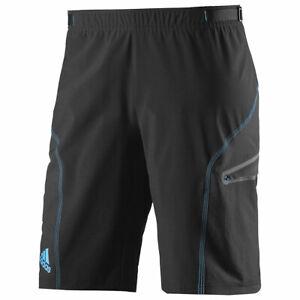Men Bicycle Adidas Climalite Cycling BIB SHORTS Bike Padded Shorts Size S M