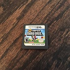 New Super Mario Bros Nintendo DS Game Cart Only  Works L@@K