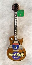 HARD ROCK CAFE NEWPORT BEACH INTERSTATE 5 GUITAR SERIES PIN # 6558