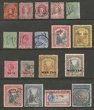 BAHAMAS QV TO GV MAINLY FINE USED SELECTION OF 18,SEE SCan