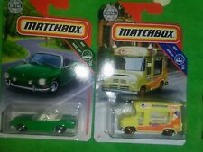 2019 Matchbox Mbx Service # 11 Ice Cream King Truck #12 Road Trip Vw type 34 K.G