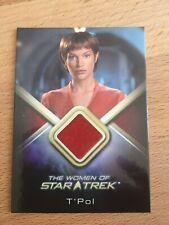 The Women of Star Trek -Costume card Jolene Blalock