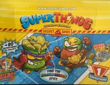 Superthings Superzings Secret Spies Series Choose Your figure New from Packaging