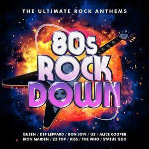80'S ROCK DOWN - Queen [CD] Sent Sameday*