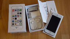 Apple iPhone 5s 16GB in Silber unlocked & brandingfrei & iCloudfrei **TOPP**