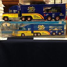 Sunoco Racing Team Tractor Trailer With Car