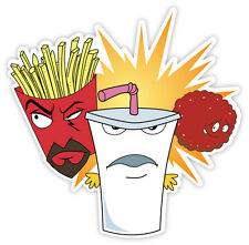 """Aqua Teen Hunger Force sticker decal 4"""" x 4"""""""