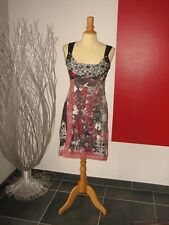 ROBE DOS DENTELLE & BIJOUX LACE BACK DRESS & JEWELRY SAVE THE QUEEN XL 40 UK 12