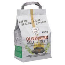 Olivo ketts grill-briketts charbon pour barbecue Briquettes de Noyau d'olive 1,5